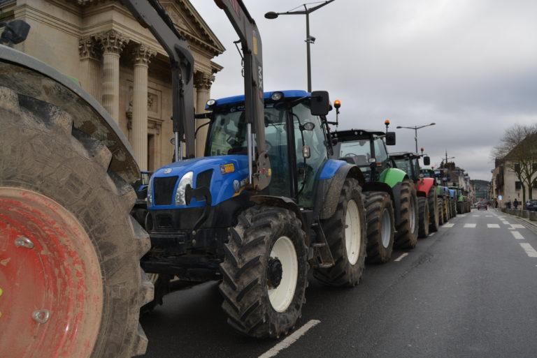 A Dieppe, Rouen et Le Havre, pour défendre la souveraineté alimentaire française.